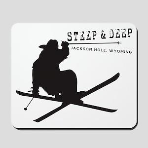 Ski Jackson Hole Mousepad
