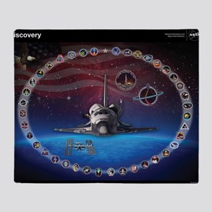 L Discovery Tribute Throw Blanket