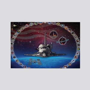 L Discovery Tribute Rectangle Magnet