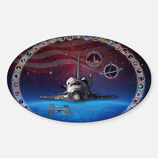 L Discovery Tribute Sticker (Oval)
