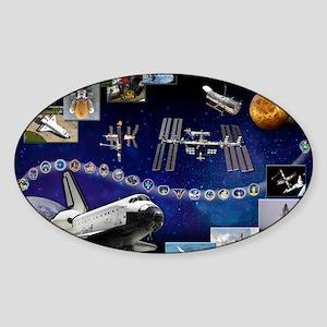 L Atlantis Tribute Sticker (Oval)