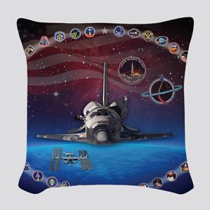 L Discovery Tribute Woven Throw Pillow