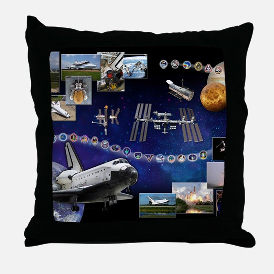 L Atlantis Tribute Throw Pillow