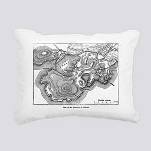 athensharborplan(pck1263 Rectangular Canvas Pillow