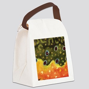 brook_skin_mouse Canvas Lunch Bag