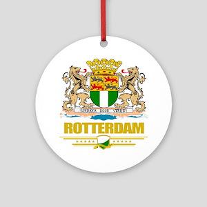 Rotterdam (Flag 10) Round Ornament