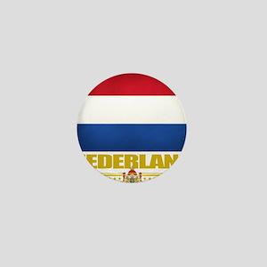 Netherlands (Flag 10) Mini Button
