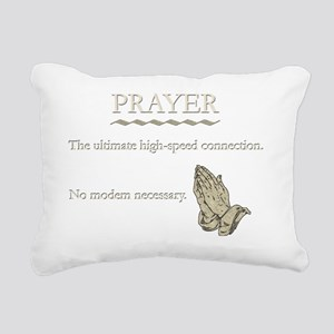 prayerconnectDk Rectangular Canvas Pillow