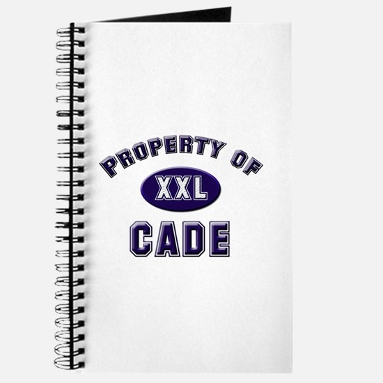 Property of cade Journal