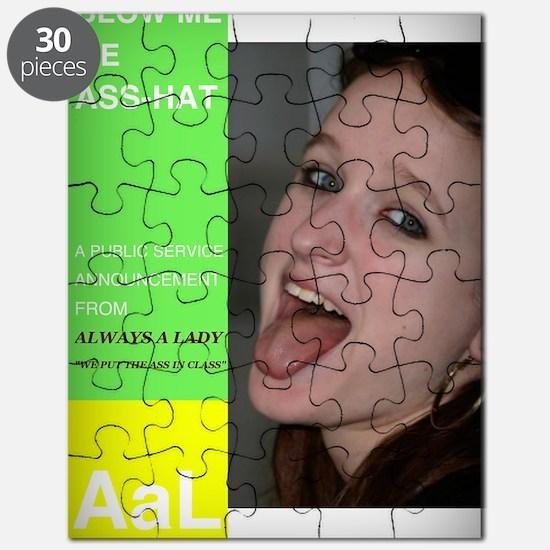 blow me ass-hat Puzzle