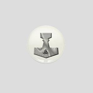 Steel Hammer Mini Button