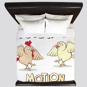 PoultryinMotion King Duvet