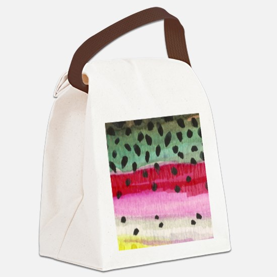 skin_mouse Canvas Lunch Bag