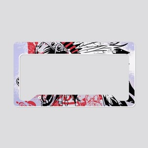 lone wolf License Plate Holder