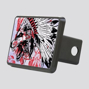 lone wolf Rectangular Hitch Cover