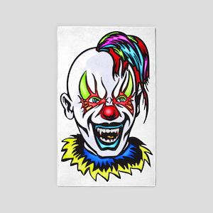 evil_clowns_007 3'x5' Area Rug