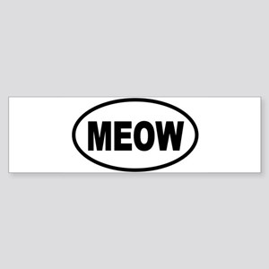 MEOW1 Bumper Sticker