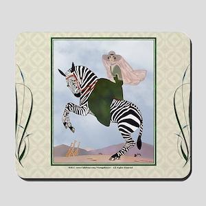 Laptop-ArtDecoMarty-Zebra Mousepad
