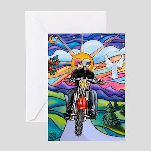 Magnet--MC-CountryRoad-MW2B Greeting Card