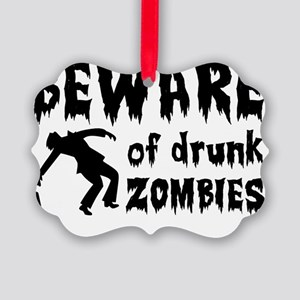 zombies Picture Ornament