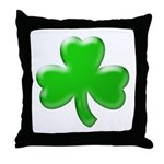 Shamrock ver4  Throw Pillow