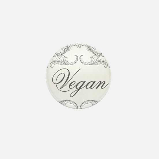 vegan-04 Mini Button