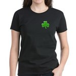 Shamrock ver4 Women's Dark T-Shirt