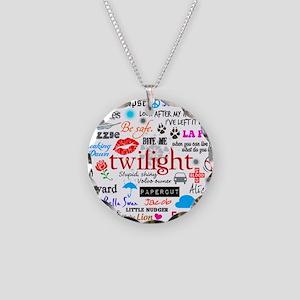 Twi Mem iPad Necklace Circle Charm