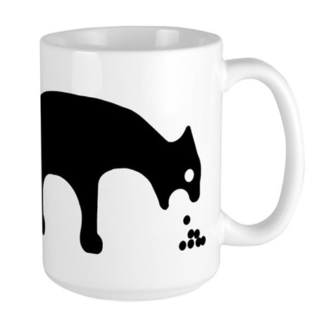 Vomiting Cat Mugs