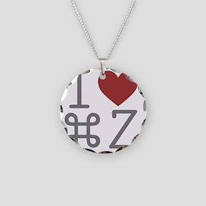 commanZ Necklace Circle Charm