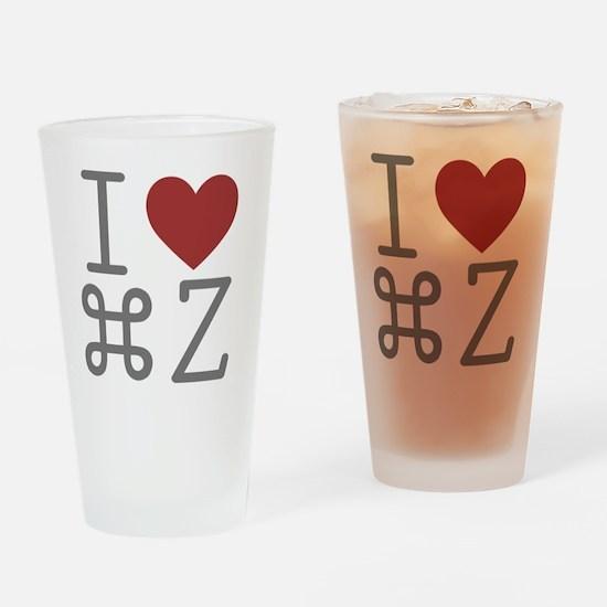 commanZ Drinking Glass