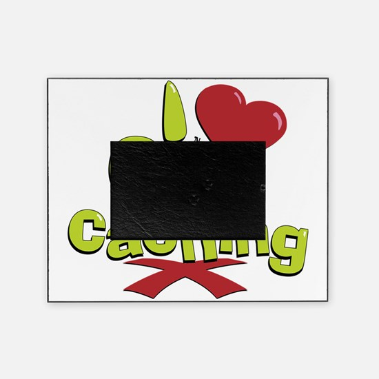 geocaching BUTTON Picture Frame