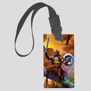Cafe Journal CONAN Large Luggage Tag