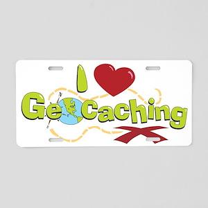 geocaching 2 Aluminum License Plate