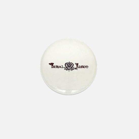 Tribal Fusion Logo Mini Button