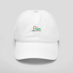 Vegan with all my Heart Cap