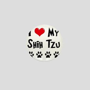 I-Love-My-Shih-Tzu Mini Button