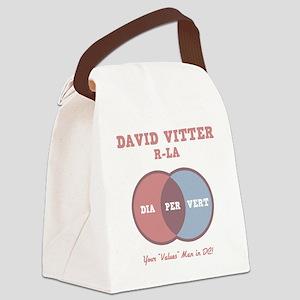 vitter-venn-DKT Canvas Lunch Bag