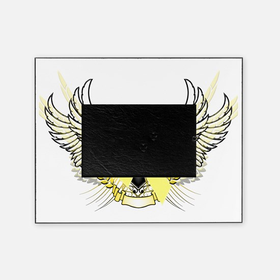 Awareness Tribal Yellow copy Picture Frame