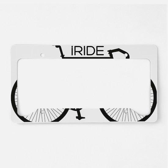 iRIDE License Plate Holder