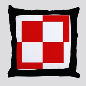 10x10-Szachownica-till1993 Throw Pillow