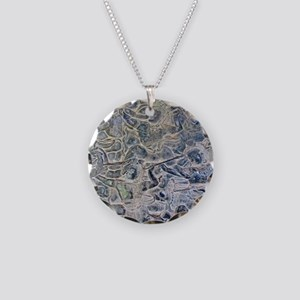 angkor gallery relief judgem Necklace Circle Charm
