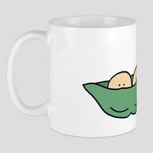peapod 2 card Mug