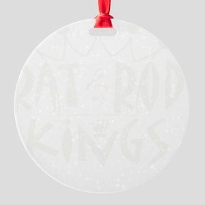 Rat Rod Kings t shirt Round Ornament