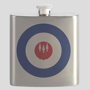 5x5-RRAF_roundel Flask