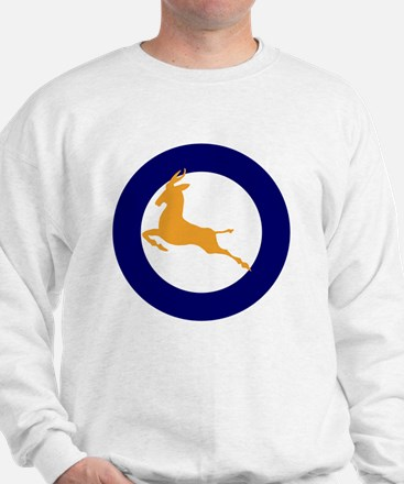 7x7-Roundel_of_the_SAAF_1947_1957 Sweatshirt