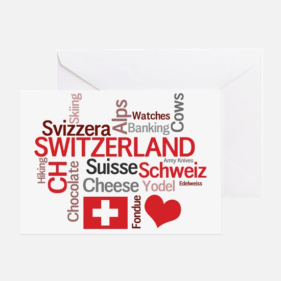 Switzerland2tilt Greeting Card