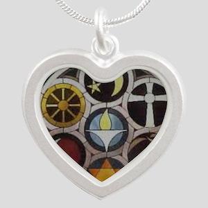 uu symblesBBB Silver Heart Necklace