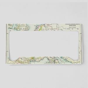 charlemagnesempire(btsfd554) License Plate Holder