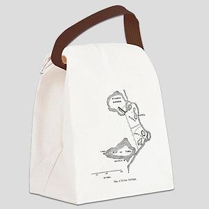 carthagetyrianplan(pck283) Canvas Lunch Bag